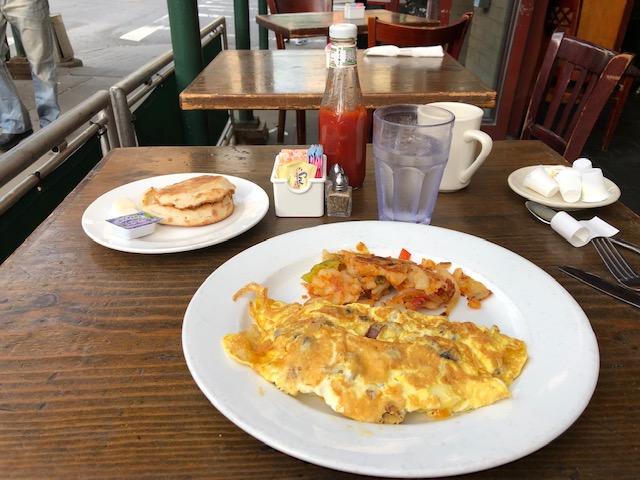 Breakfast at Galaxy