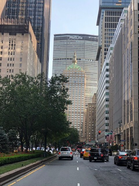 Iconic view of Park Ave