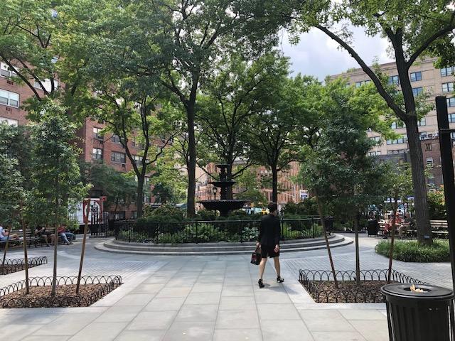 Fountain in Jackson Square