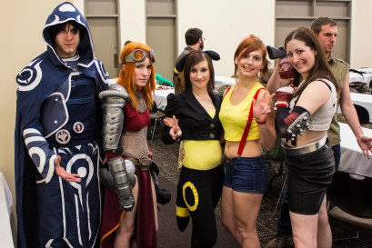 Cosplayers from Twilight Comics