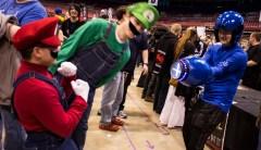 Luigi headbutt attack!