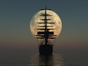 Ship & Moon copy