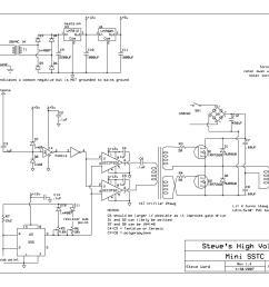 a mini solid state tesla coil sstc kit technical 12v solid state mini tesla coil with circuit diagram [ 2160 x 1660 Pixel ]