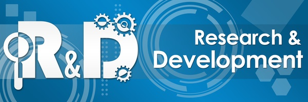 R And D - Research And Development Tecy Background Banner