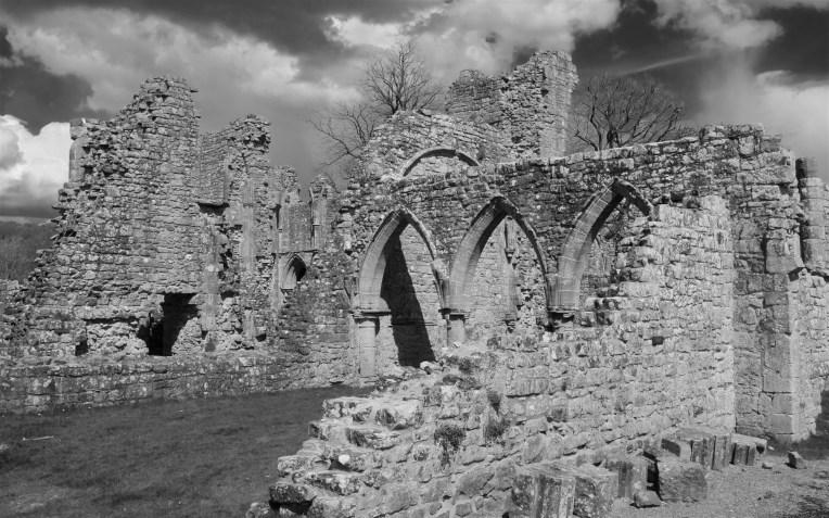 Three Norman arches