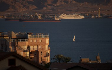 Aqaba across the border from Eilat is the only port of Kingdom of Jordan
