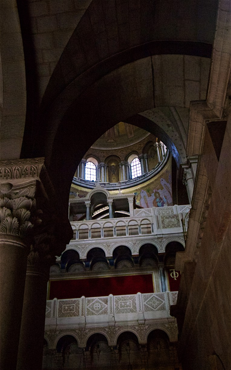 Interior of the Church of the Holy Sepulchre
