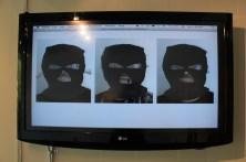 Michelle Ramin 'Mask Booth' [multi-media, 2012]
