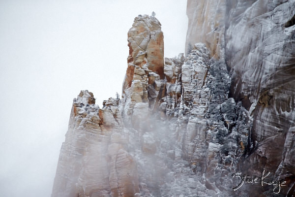 Great White Throne, Zion National Park, (c) Photo by Steve Kaye