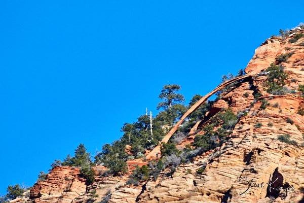 Crawford Arch, Bridge Mountain, Zion National Park, (c) Photo by Steve Kaye