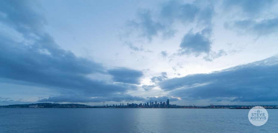 Seattle Elliot Bay Sunrise