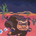 Wild Little Pig