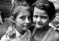 Yadira, left, came to Inhijambia 2 years ago at age 6 dnd loved to laugh and dance