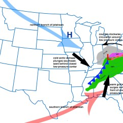 Frontal Rainfall Diagram Blank Theatre Stage Winter Weather In The South Steve Cross Loves Music And