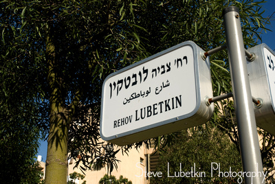 Rehov Ziviah Lubetkin, Tel Aviv street named in honor of Ziviah Lubetkin