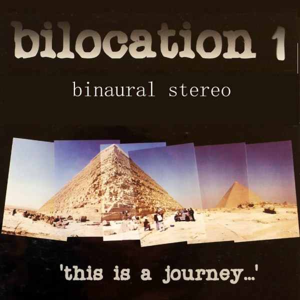 bilocation stereo album cover art