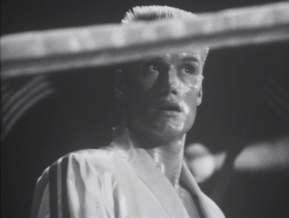 "A montage about the movie we just watched? Drago's ""WTF?"" face expresses my opinion quite nicely."