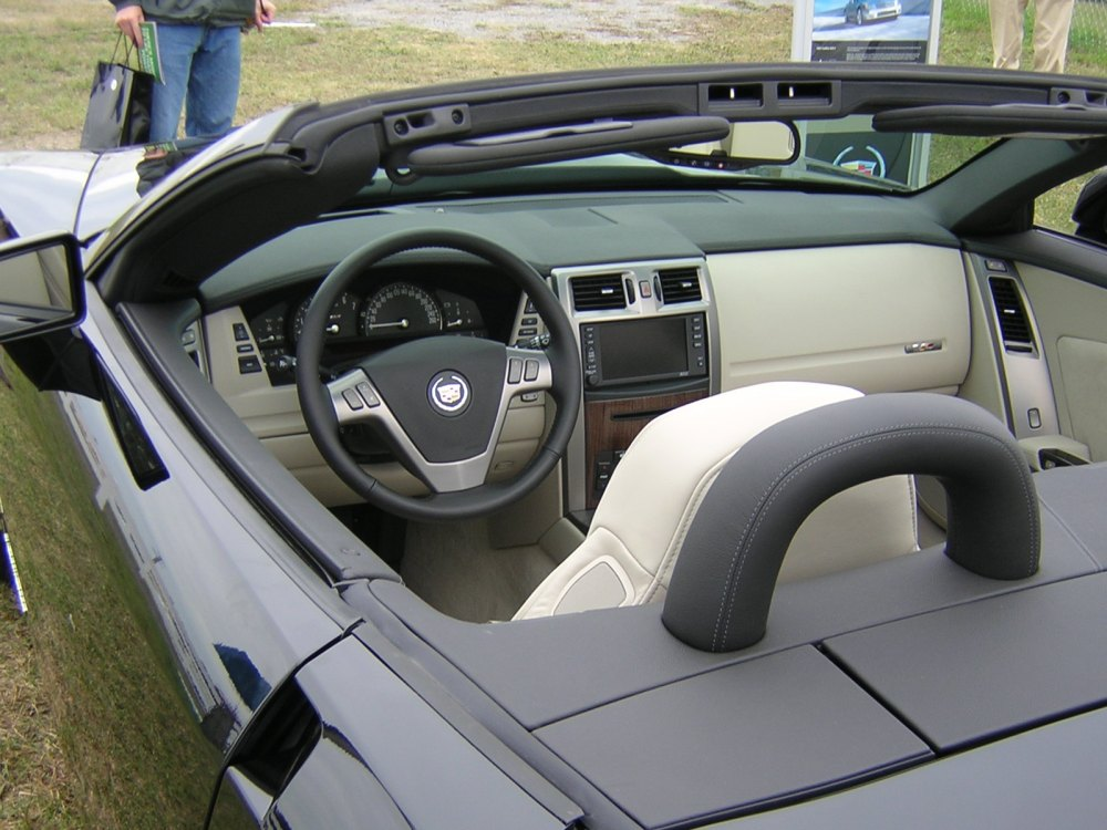 medium resolution of the cadillac xlr appears to be a very comfortable car