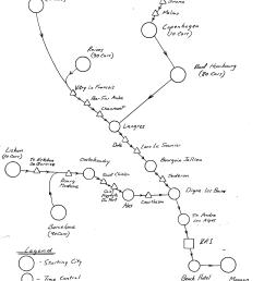 route schematic for the 2017 rallye monte carlo historiquermch 2017 route schematic [ 2550 x 3300 Pixel ]