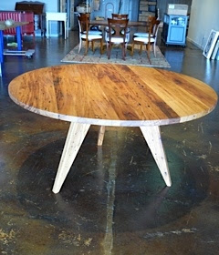 Awesome savings on American Chestnut round table!