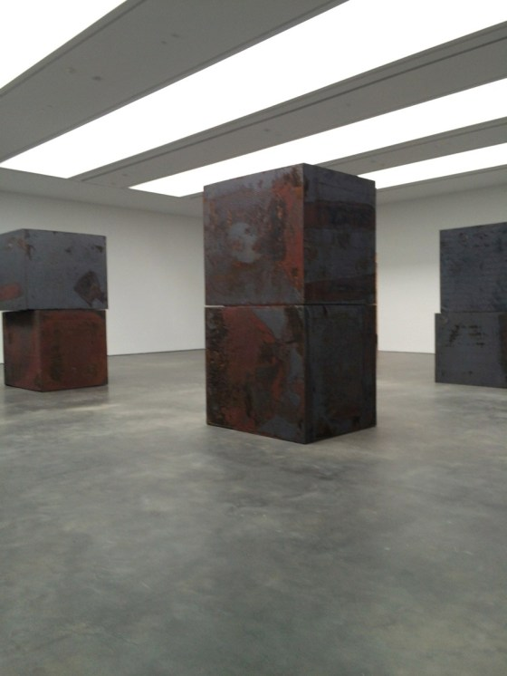 "Richard Serra ""Equal"" at the David Zwirner gallery"
