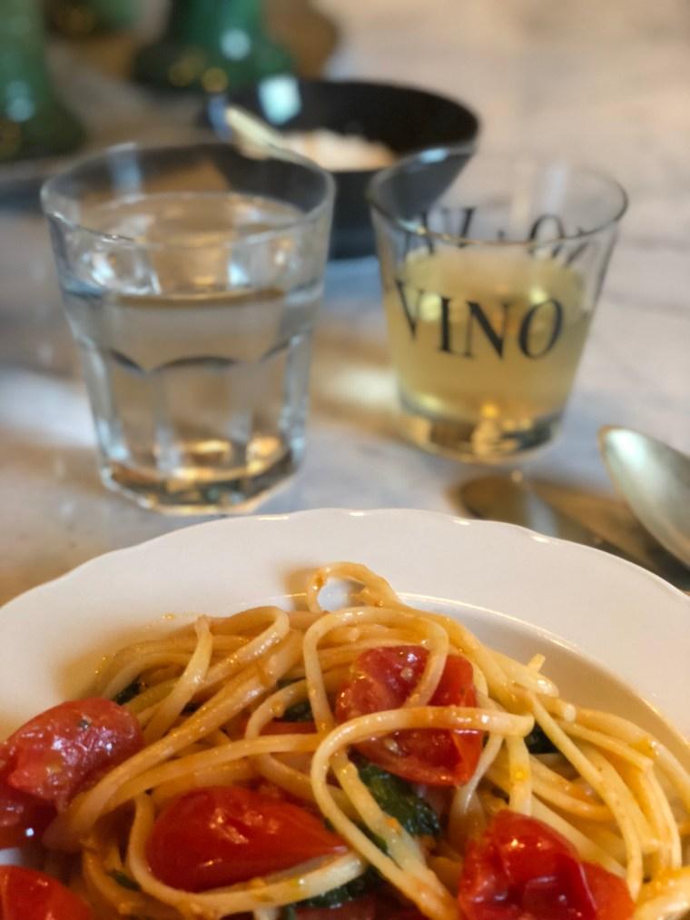 Italy, pasta, wine