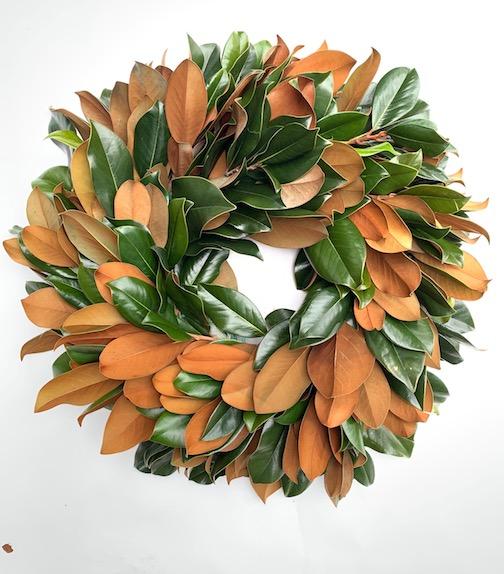 Weston Farms, wreath, diy