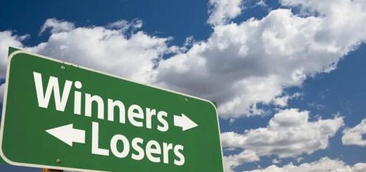 Winners losers