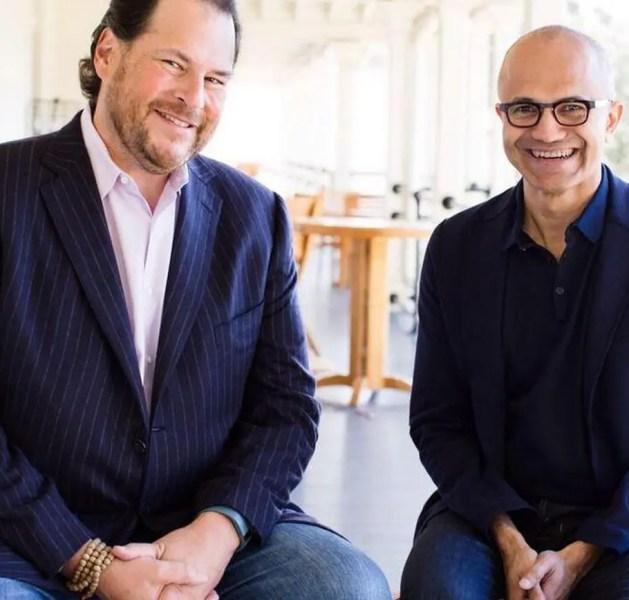 Microsoft & Salesforce.com – The 800-Pound Gorilla vs. the Elephant in the Room
