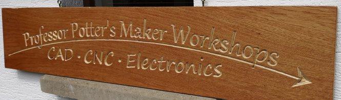 Potter's Workshops sign