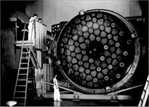 Hale Telescope mirror (Caltech)