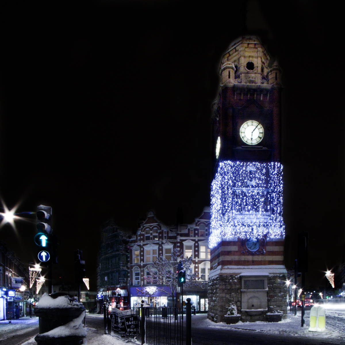 Crouch End Christmas Tower Steven Kelly Photography