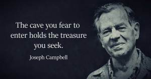 Joseph Campbell on what you seek