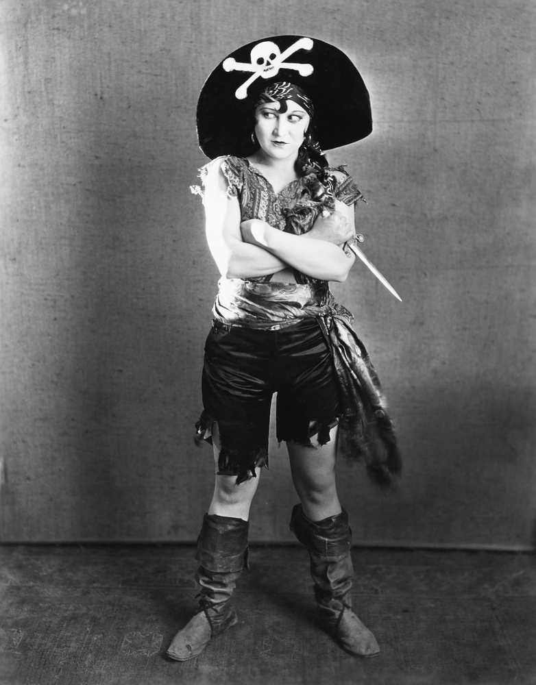 Anne Dieu-le-veut : dieu-le-veut, Female, Pirates, Wouldn't, Steven, Becker
