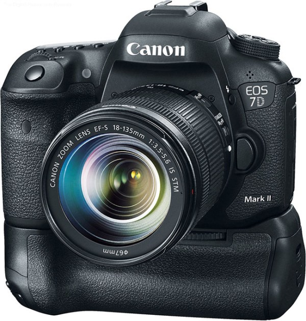 Canon EOS 7D Mark II with BG-E16