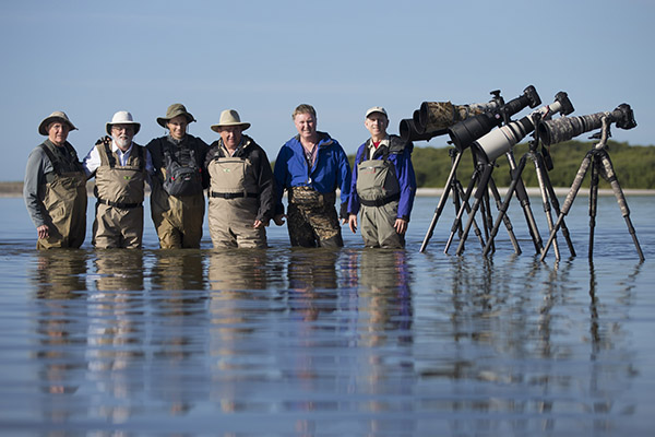 Spoonbill Tour group