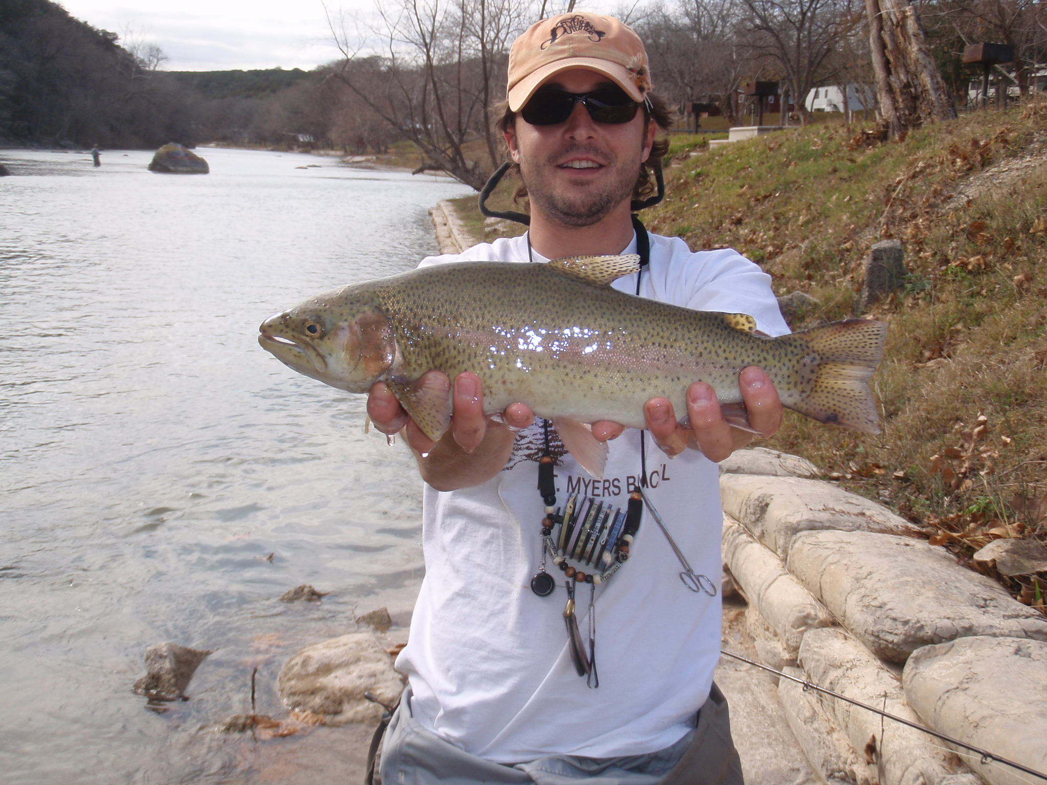 Guadalupe trout fishing report for Tpwd fishing reports