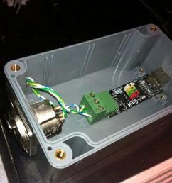 diy usb dmx controller [ 2592 x 1936 Pixel ]
