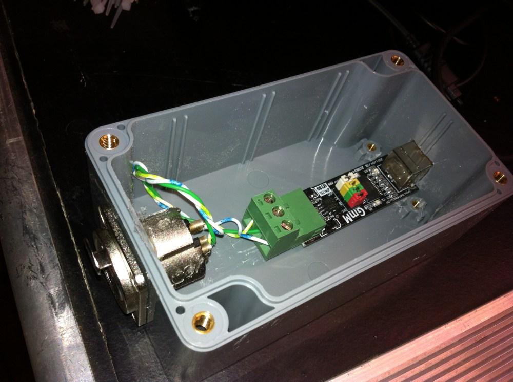 medium resolution of diy usb dmx controller