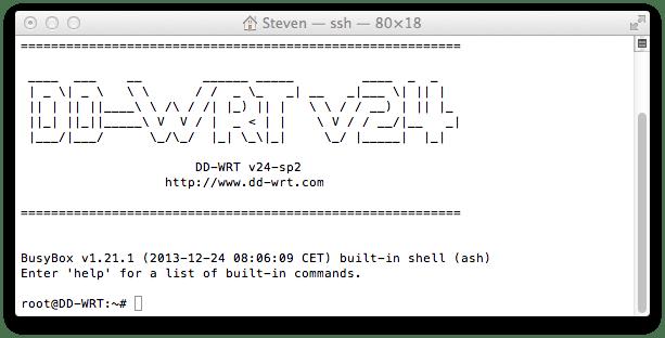 DDWRT_SSHConnect