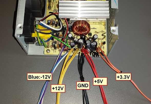 DIY PC PSU to Bench  Project Power Supply  Steven B