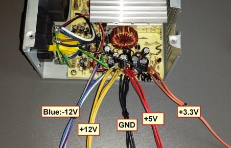DIY PC PSU to Bench / Project Power Supply | Steven B.