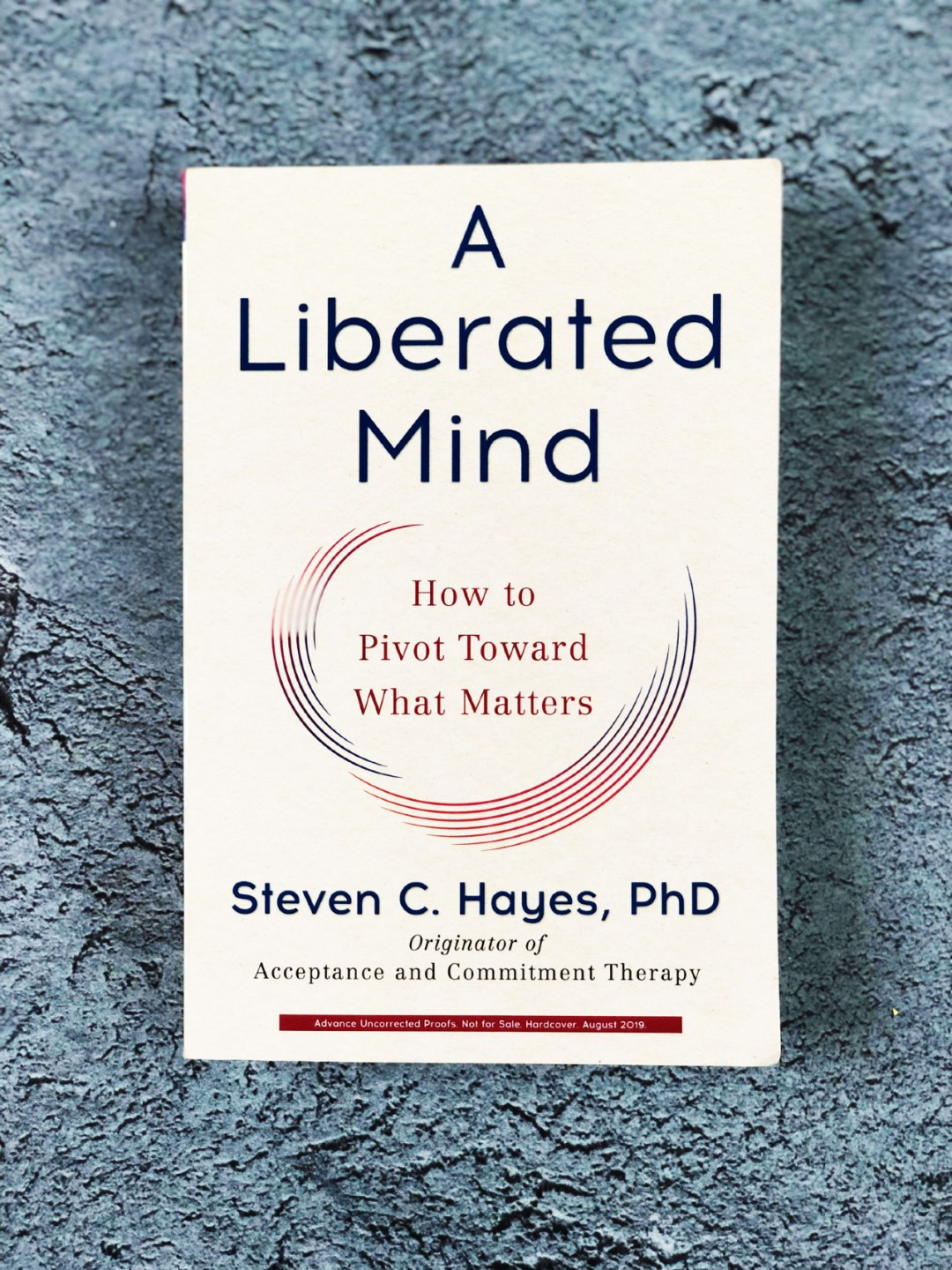 A Liberated Mind How To Pivot Toward What Matters By Steven C Hayes