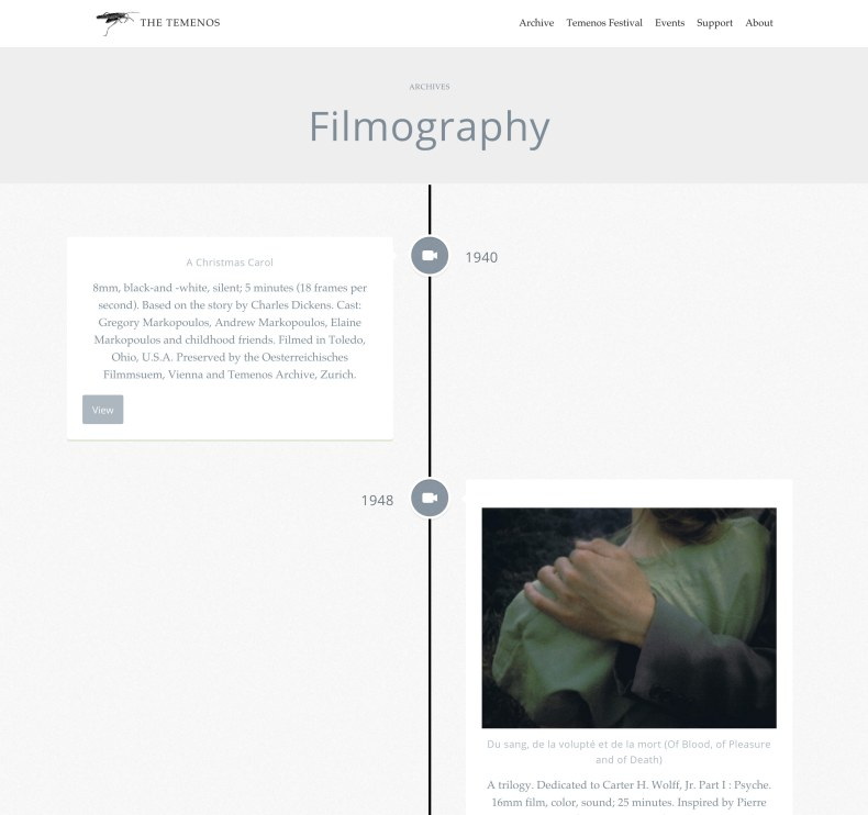 the-temenos-markopoulos-beavers-website-steven-chu-studio-10-filmography-timeline