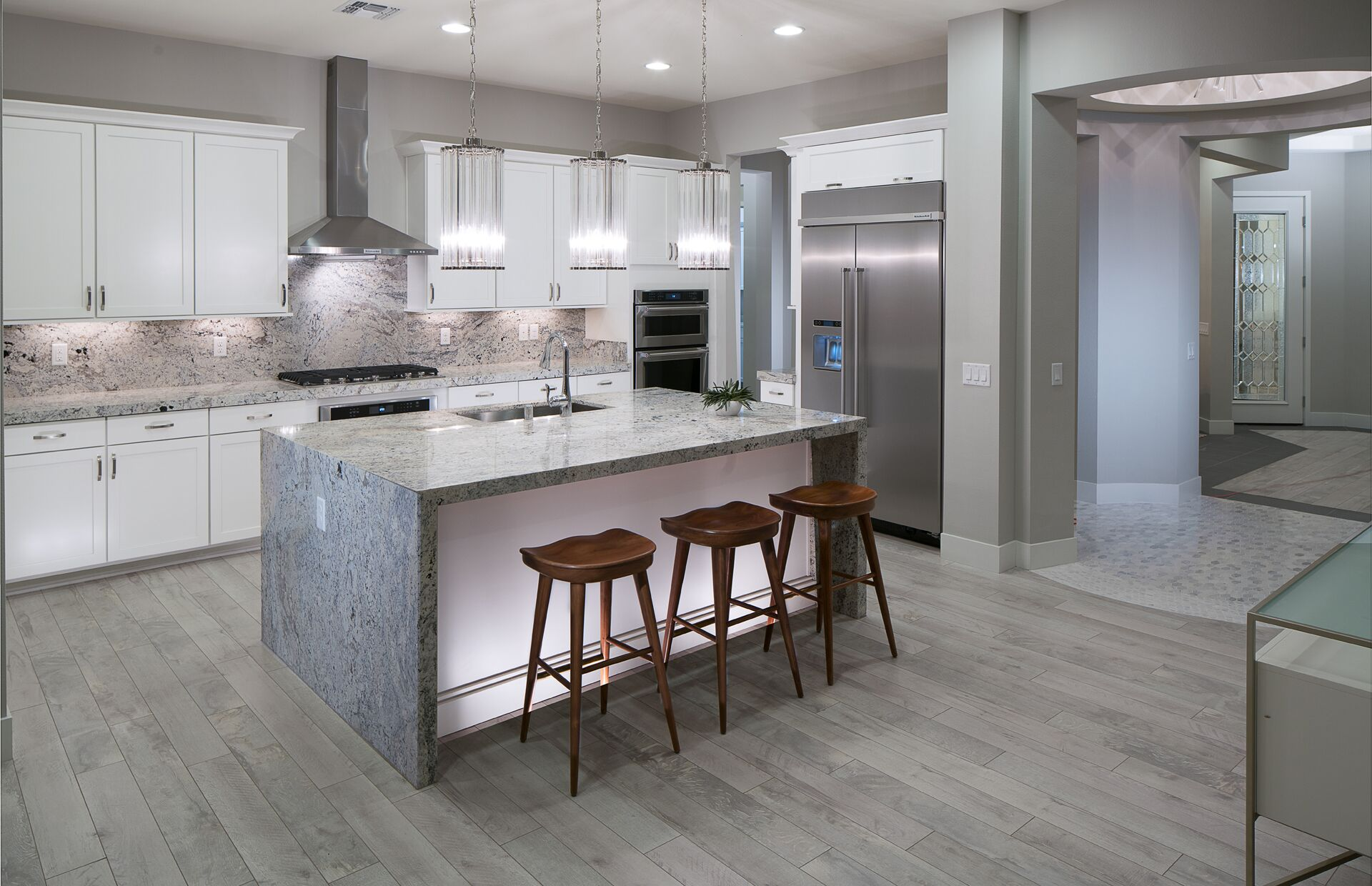 kitchens in new homes brass kitchen pulls 5 design trends to take from model
