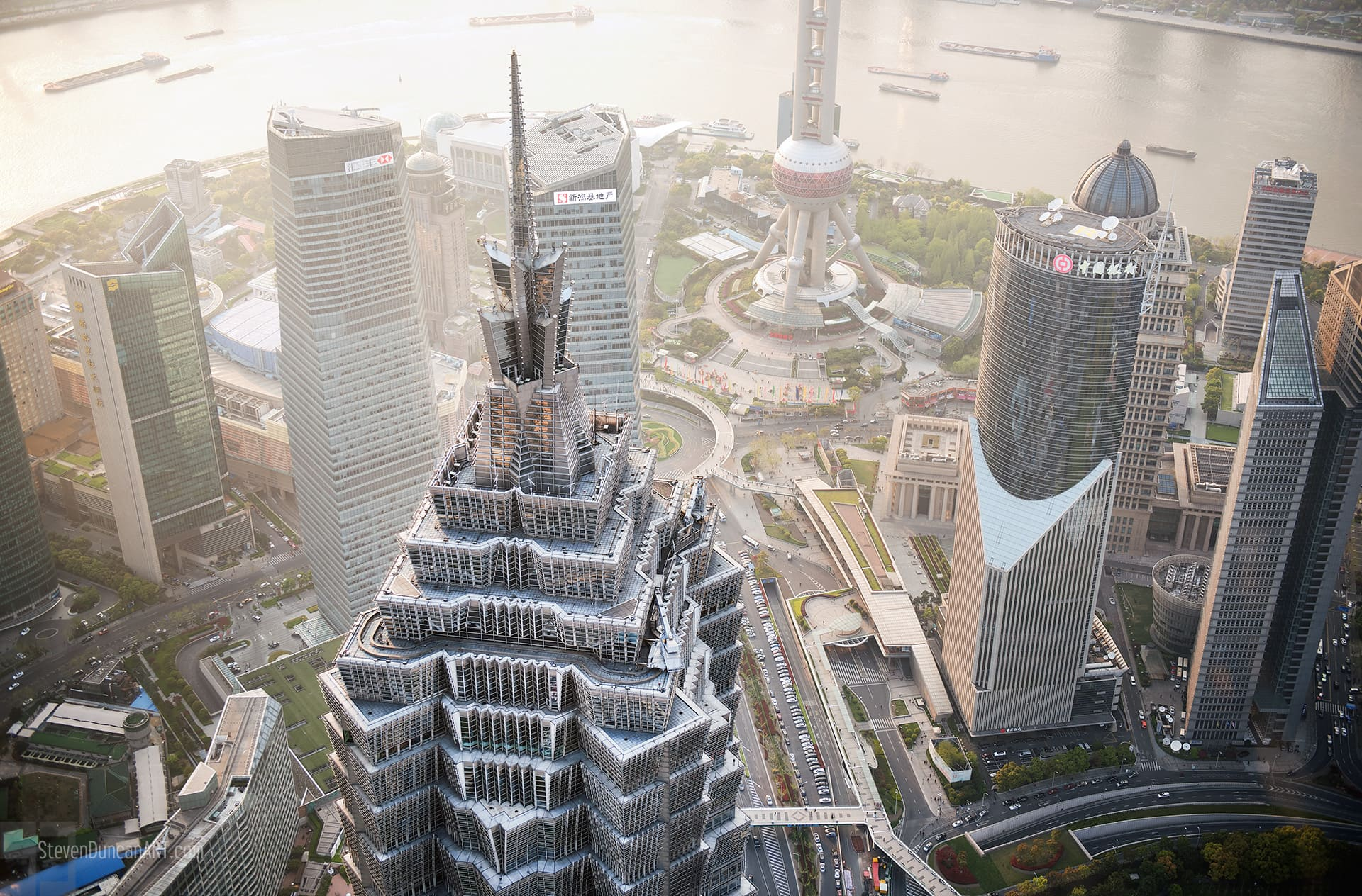 Another view of Shanghai above