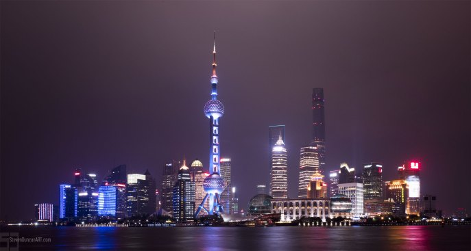 Shanghai from the Bund