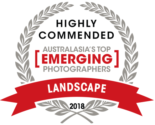 Highly Commended in Australia's Top Emerging Photographer Awards