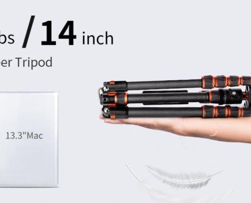 Ultra-lightweight Carbon Fiber Tripod