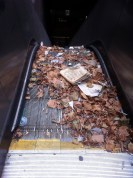 Broken BART escalator
